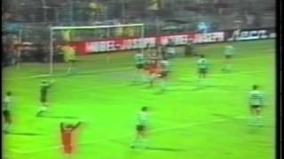 Kaiserslautern - 2 x Sporting - 0 de 1979/1980 Taça Uefa