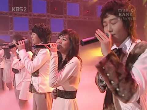20070128 Mu Sic Ba Nk   천상지희 The Grace 열정My Everything