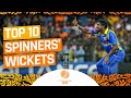 Top 10 Spinners | #CWC11Rewind