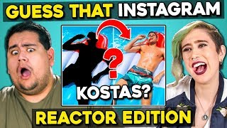 Can YOU Guess That Reactor's Instagram? | FBE Staff React