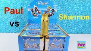 Paul vs Shannon DC Pumps Vinyl Figure Unboxing Challenge Review | PSToyReviews