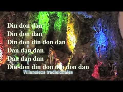 Din Don Dan - Villancico Cantado con letra