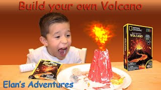 Let's build your own Volcano (National Geographic STEM)