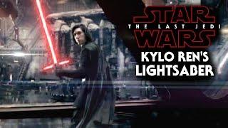 Kylo Ren's Lightsaber NEW Detail Revealed! - Star Wars The Last Jedi
