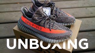 Unboxing и обзор кроссовок adidas Yeezy Boost 350 V2 Beluga
