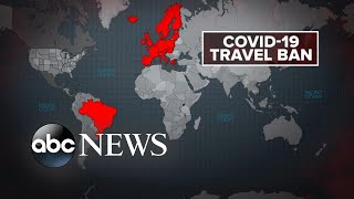 Biden to impose new travel bans as alarm of new COVID-19 variants grow l GMA