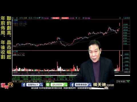 理周TV-20200115 盤後-楊天迪 股票會說話/聯鈞創高、晶焱崛起 年前佈局、年後收割