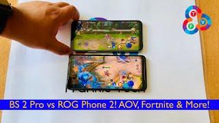 Black Shark 2 Pro vs Asus ROG Phone 2 - Gaming Battle! (Arena of Valor, Fortnite & More!)