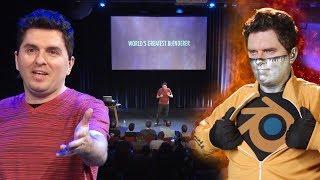 Captain Disillusion: World's Greatest Blenderer - Live at the Blender Conference 2018