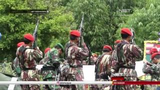 NET YOGYA - Pemakaman Sertu Danang Anggota Kopassus Secara Militer