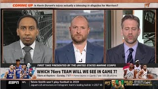 ESPN FIRST TAKE | PREDICT Raptors vs 76ers: Which 76ers Team will we see in game 7?