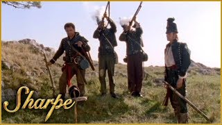Sharpe & His Men Pay Respect To Rifleman Perkins | Sharpe