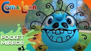 Hilarious Children Cartoon | Pocket Mirror | Cam & Leon