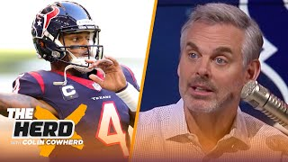 Jets should make a play for Deshaun Watson, Gase in Seattle is a mistake —Colin | NFL | THE HERD