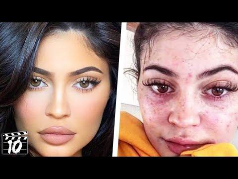 Без шминка и Фотошоп - како всушност изгледа Кајли Џенер во реалноста?