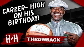 Shaquille O'Neal Career-HIGH on his Birthday, Full Highlights vs Clippers 2000.03.06 - 61 Points!