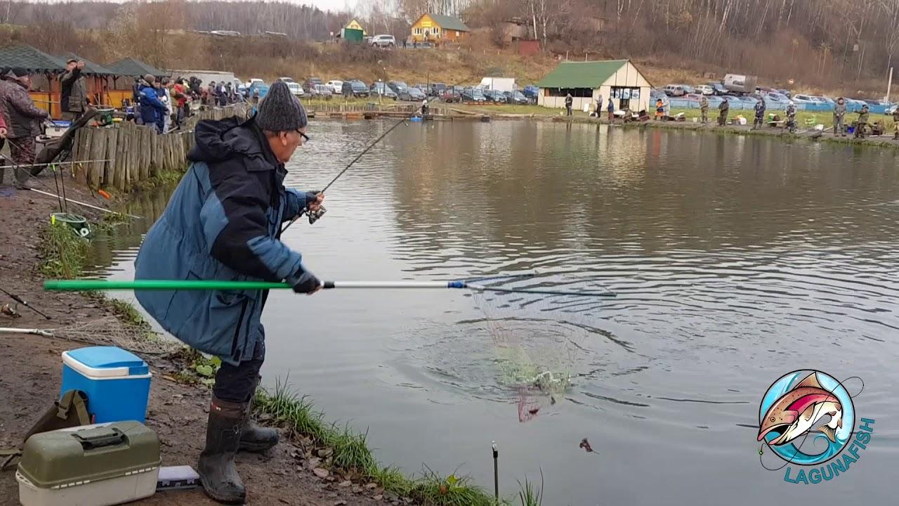 Платная рыбалка в лагуне