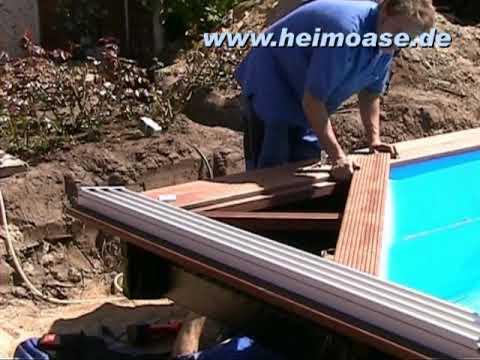 schwimmbadbau hamburg schweiz poolbau mit holz youtube