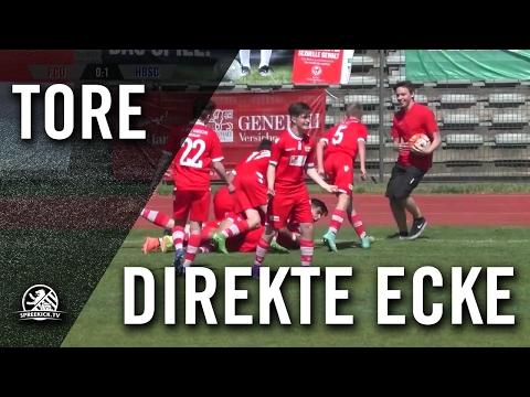 Direkte Ecke von Bedirhan Sivaci (1. FC Union Berlin, U15 C-Junioren) | SPREEKICK.TV
