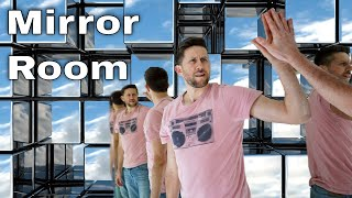 I Built An Entire Room Made Completely Out of Mirrors!