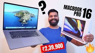 "MacBook Pro 16"" Unboxing & First Look - Intel Core i9 - My New PRO Machine🔥🔥🔥"