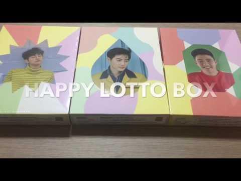 EXO HAPPY LOTTO BOX Unboxing
