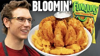 We Made A Funyuns Bloomin' Onion