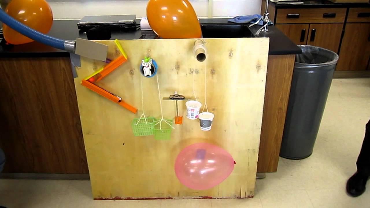 Physical Science Rube Goldberg Machine