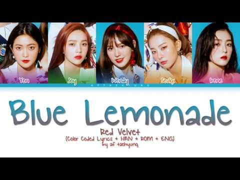 Red Velvet (레드벨벳) - Blue Lemonade (Color Coded Lyrics Eng/Rom/Han)