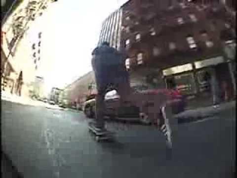 Video CODA Planche skate BAGS Rose 8.75
