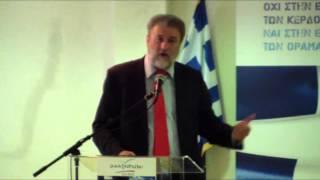 Ομιλία Νότη Μαριά στους υποψήφιους Ευρωβουλευτές