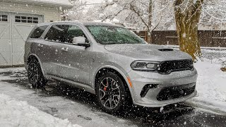 The 710 Horsepower Dodge Durango Hellcat is Tons of Fun and Hilariously Flawed