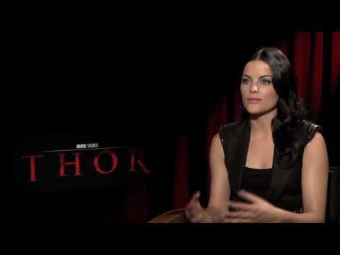 THOR God of Thunder: Jaimie Alexander Exclusive Interview ...