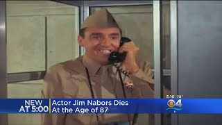 """""""Gomer Pyle"""" Actor Jim Nabors Dead At 87"""