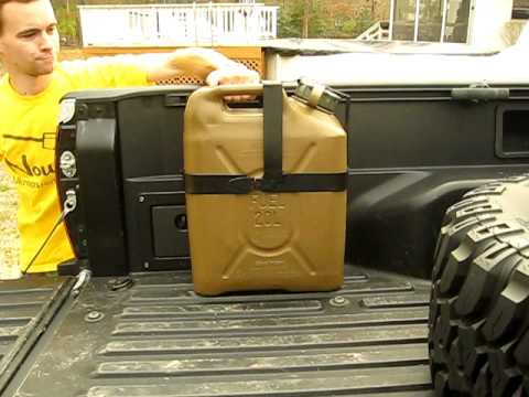 Jerry Can Mount Test Youtube
