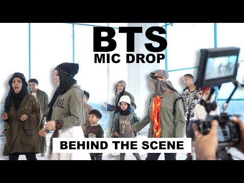 BTS - MIC DROP - Behind The Scene Part 1 - Gen Halilintar