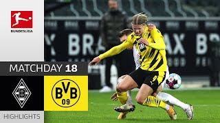 Borussia M'gladbach - Borussia Dortmund   4-2   Highlights   Matchday 18 – Bundesliga 2020/21