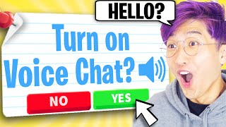 Can We Use ADOPT ME TIK TOK HACKS To GET VOICE CHAT IN ADOPT ME!? (INSANE GLITCHES)