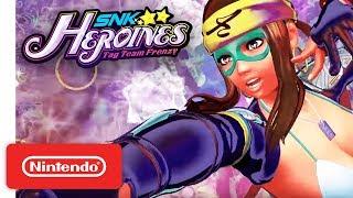 SNK HEROINES Tag Team Frenzy - Sylvie & Zarina Take the Stage! - Nintendo Switch