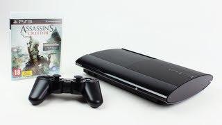 PS3 Super Slim Assassin's Creed 3 Bundle Unboxing (PlayStation 3 Super Slim 500GB) | Unboxholics