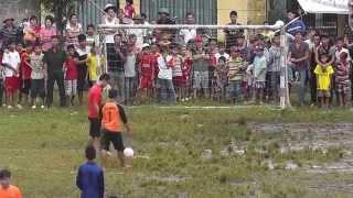 Đá luân lưu trận chung kết giải bóng đá thiếu nhi hè 2014