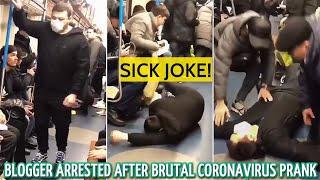 Watch: Man's coronavirus joke in Moscow metro lands him in..