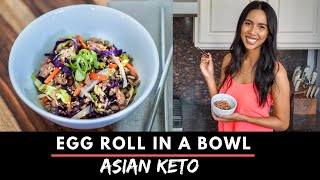 KETO LOW-CARB EGG ROLL IN A BOWL RECIPE