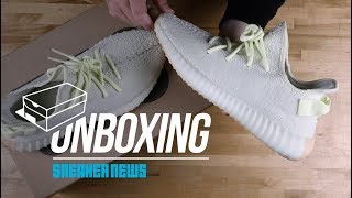 """Unboxing The adidas Yeezy Boost 350 v2 """"Butter"""""""