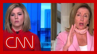 Pelosi to Brianna Keilar: That's not an appropriate question to ask