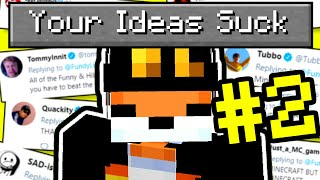 I made your dumb Ideas in Minecraft again...