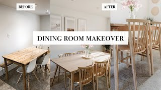 Dining Room Makeover - Article Furniture