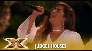 Scarlett Lee Sings Whitney Houston IN FRONT OF The Writer And Makes HER CRY! | The X Factor UK 2018
