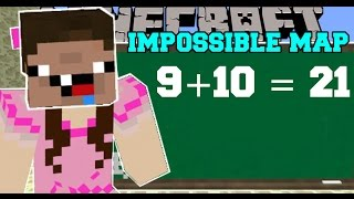 Minecraft: THE IMPOSSIBLE MAP (GET READY TO FAIL!) Custom Map