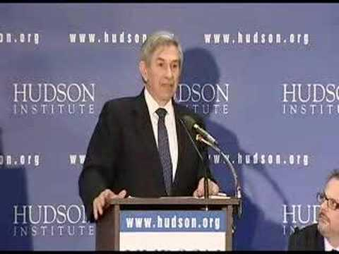 Paul Wolfowitz speaks at Hudson Institute - YouTube